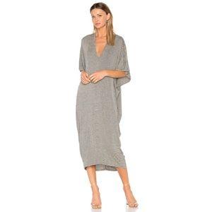 Riller & Fount Luca Striped Caftan Maxi Dress